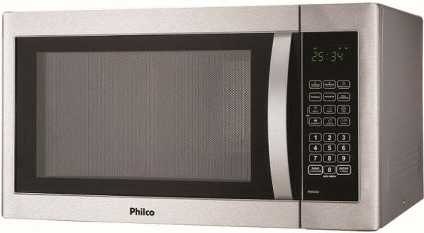 Medidas do Microondas Philco 39 litros Prata - PMS42