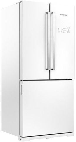 Medidas da Geladeira Brastemp 540 litros Vitreous Side Inverse Frost Free - GRO80.