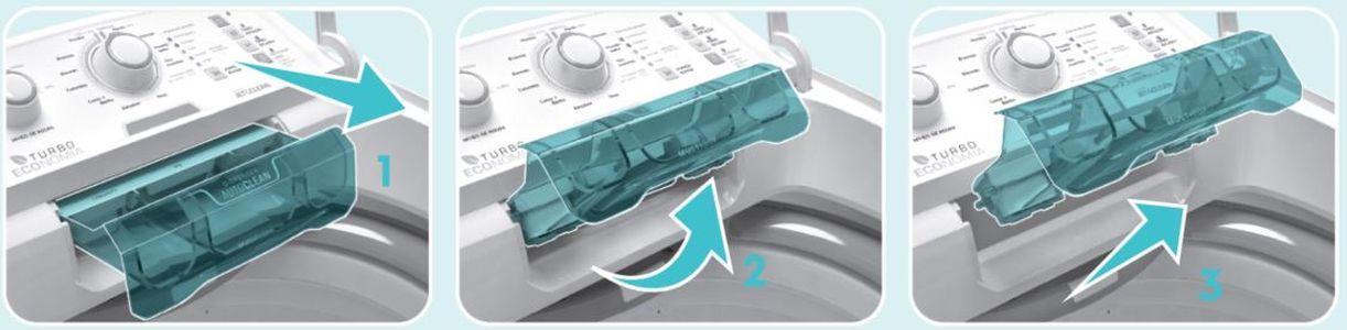 Como limpa a Lavadora de roupas Electrolux 8,5 Kg Turbo economia - LAC09