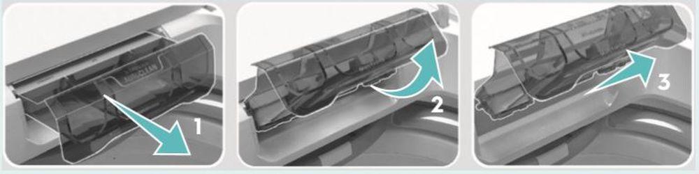 Como limpa a Lavadora de roupas Electrolux 12 Kg com Dispenser Autolimpante - LAC12