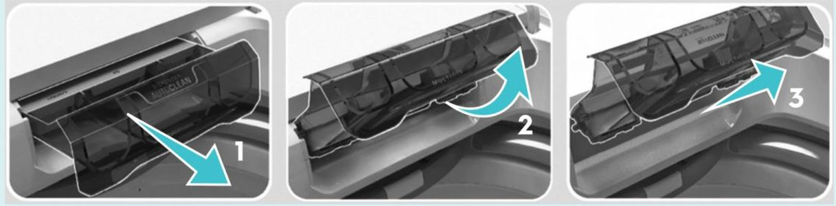 Como limpa a Lavadora de roupas Electrolux 16 Kg com Dispenser Autolimpante - LAP16