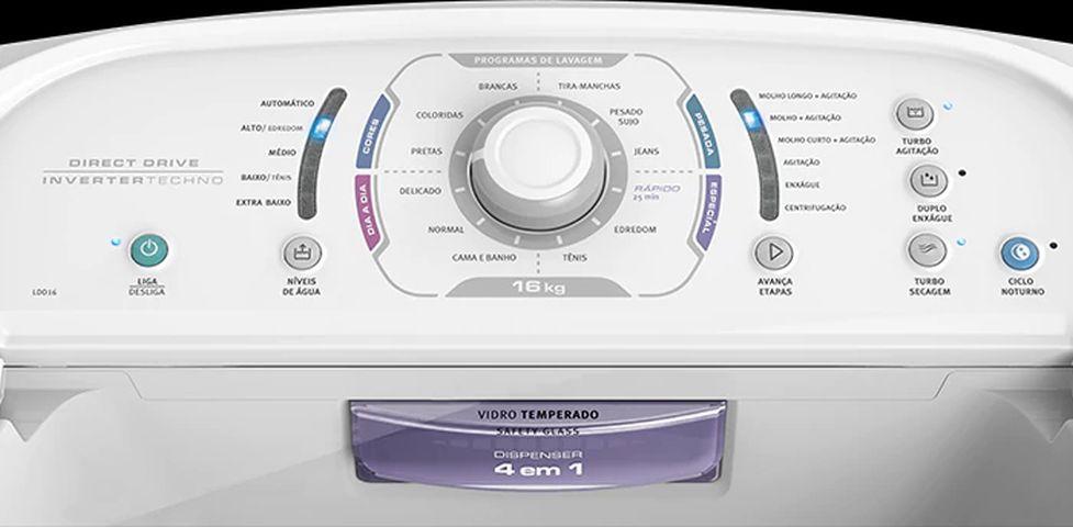 Como limpar a Lavadora de roupas Electrolux 16 Kg Direct drive - LDD16