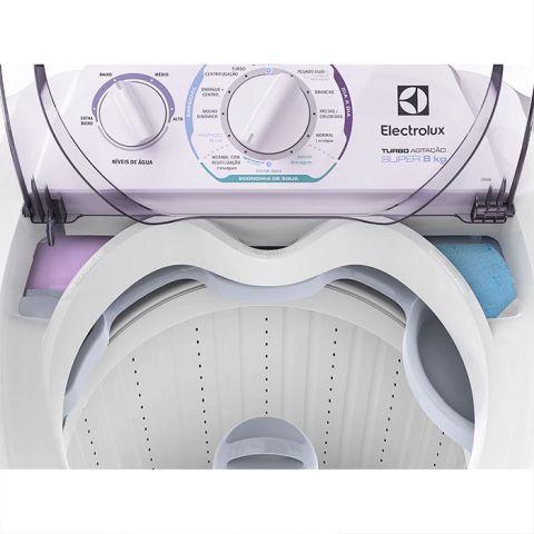 Como limpa a Lavadora de roupas Electrolux 8 Kg Turbo Agitação - LT08E