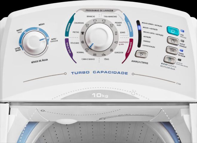 Lavadora de roupas Electrolux LT10B - conhecendo produto