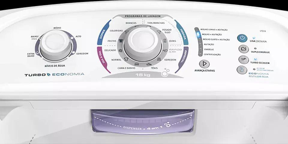 Lavadora de roupas Electrolux LTD15 - solução de problemas da lavadora