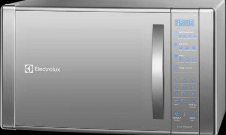 Como ajustar o relógio do microondas Electrolux 31L – ME41X