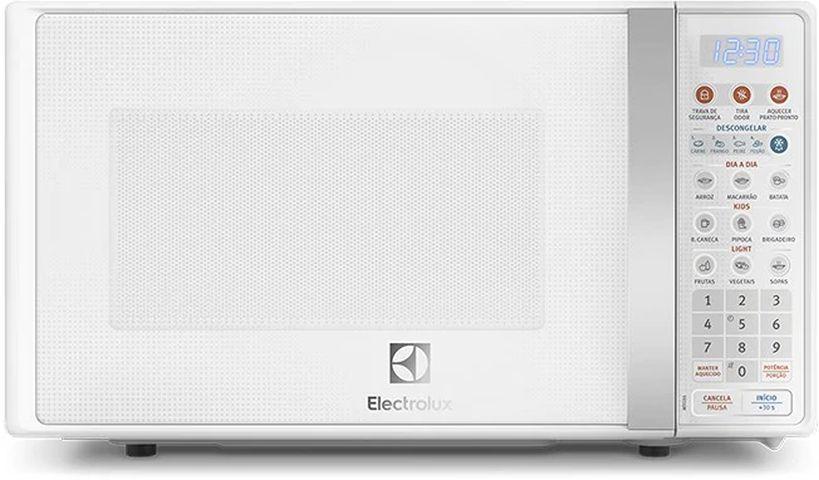 Como ajustar o relógio do Microondas Electrolux com Função Tira Odor 20 litros - MTO30