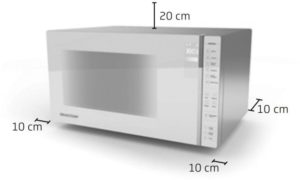 Instalação do microondas Brastemp BMG45