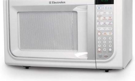 Como ajustar a potência do Microondas Electrolux 31 lts com Grill Branco MEG41