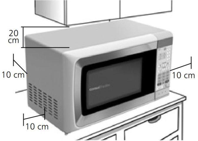 Local da Instalação do Microondas Consul 20 litros Facilite - CMP25