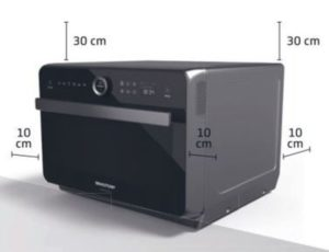 Instalação do microondas Brastemp - BMR31