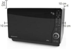 Instalação do micro-ondas Brastemp - BMJ23
