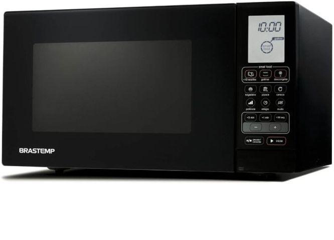 Microondas cor preta Brastemp 30 Litros preto com Grill - BMU45AE