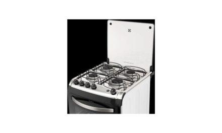 Solução de problemas do fogão Electrolux 4 bocas de piso – 52SBL