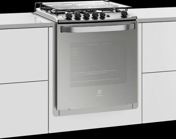 Manual de instruções do fogão a gás Electrolux 4 bocas de embutir 56EAX