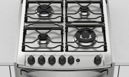 Medidas do Fogão Electrolux de Embutir 4 Bocas Full Glass Prata – 56EAX