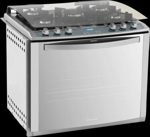 Medidas do Fogão Electrolux de embutir 5 bocas - 76EVX