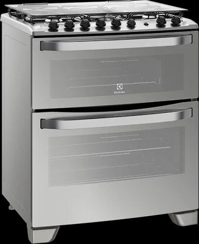 Manual de Instruções do fogão Electrolux 5 bocas de piso 76MDX
