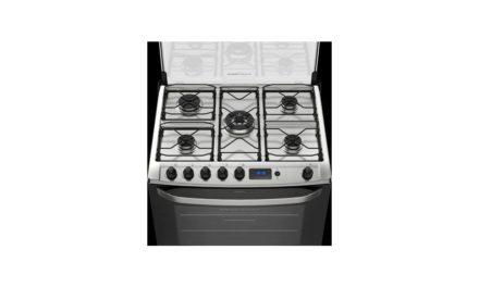 Conhecendo fogão a gás Electrolux 5 bocas de piso – 76RBS