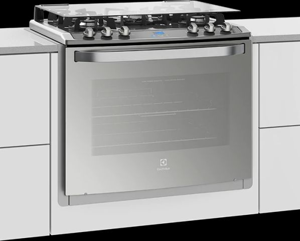 Manual de instruções do fogão a gás Electrolux 5 bocas de embutir 76XGE
