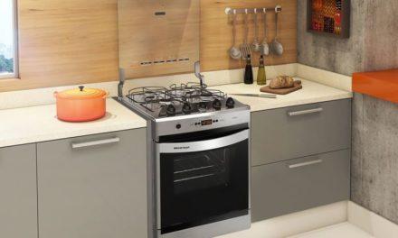 Manual de instruções do fogão Brastemp 4B Embutir – BYO4T