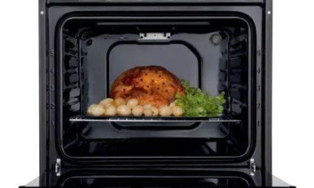 Como limpar o forno elétrico de embutir Electrolux 80L Inox – OE8MX