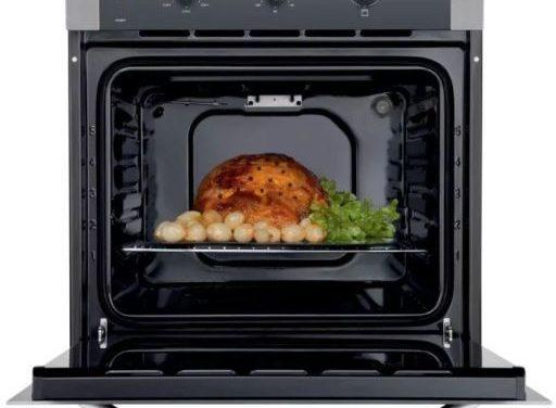 Manual de instruções do forno elétrico Electrolux 80L de embutir OE8MX