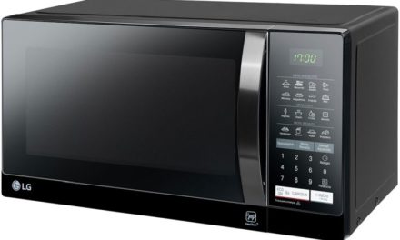 Como ajustar o relógio do microondas LG 30 litros Preto – MS3057