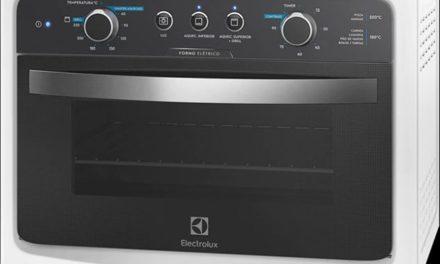 Manual de instruções do forno elétrico Electrolux 44L – FB54A