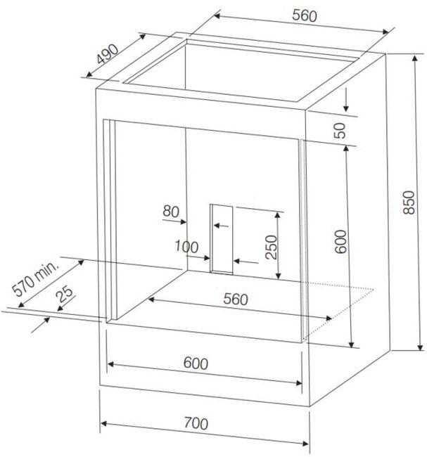 Instalação do forno de embutir Electrolux - OE8M