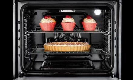 Como limpar o forno a gás de embutir Electrolux 73L Inox – OG8DX