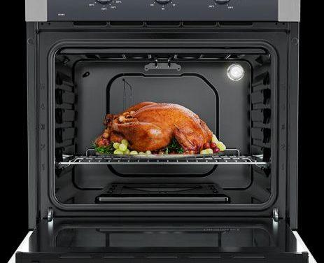 Manual de instruções do forno a gás Electrolux 73L de embutir OG8MX