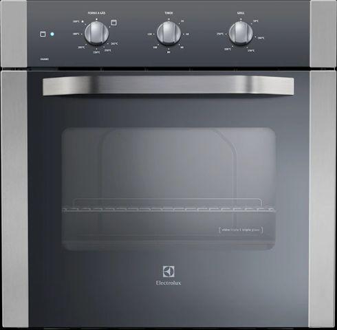 Manual de Instruções do forno a gás de embutir OG8MX