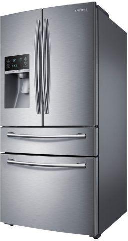 Medidas da Refrigerador Samsung 606 litros French Door com Gaveta Cool Select Zone - RF28HMEDBSR.
