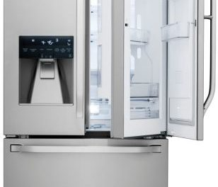 Medidas da Geladeira LG 552 L French Door Studio – LSFXC2476S