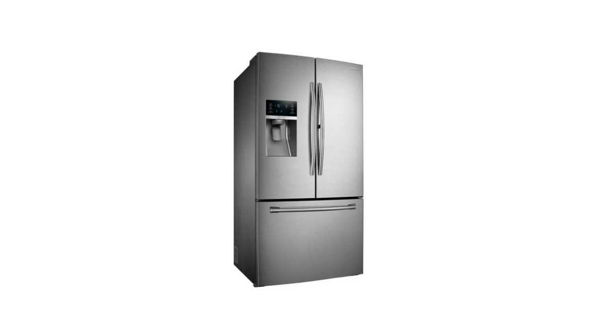 Medidas do Refrigerador Samsung 665 litros French Door Showcase - RF28HDEDBSR.