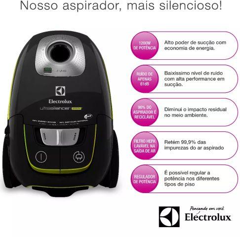 Componentes e acessórios do Aspirador de Pó Electrolux - USG30