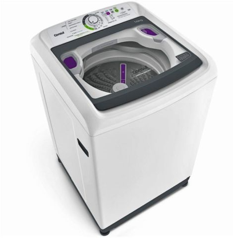 Medidas da Máquina de Lavar Roupas Consul 16 Kg Branco CML16