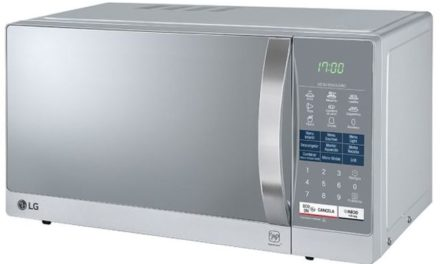 Como ajustar o relógio do microondas LG 30 litros com Grill – MH7057Q