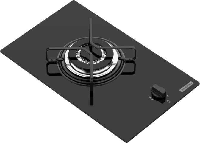 Medidas do Cooktop Tramontina 1 Boca a Gás - 94702-101