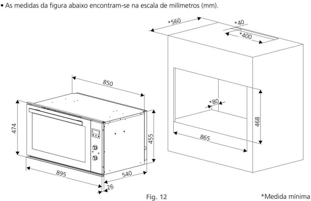 Instalação do forno de embutir Tramontina Maxi Inox 90F8 - 94855
