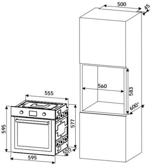 Instalação do forno de embutir Tramontina Ready Cook 60F9 - 94861