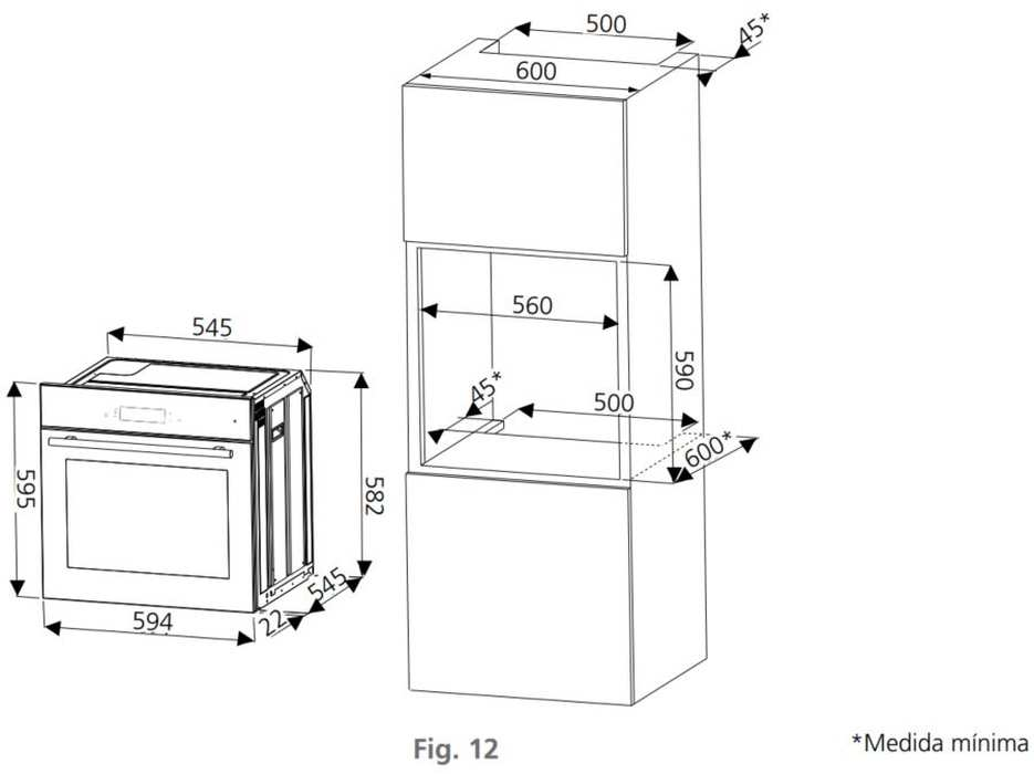 Instalação do forno de embutir Tramontina Slim Touch 60F12 - 74879