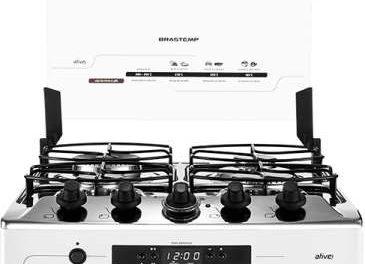 Manual de instruções do fogão Brastemp 4B – BF150