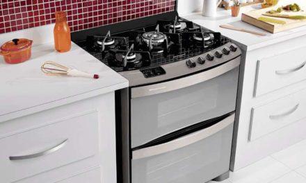 Manual de instruções do fogão Brastemp Ative! 5B piso – BFD5VAR