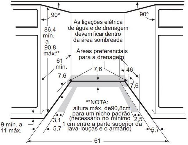 Instalação do forno de embutir Electrolux - WOI76