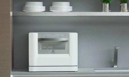 Medidas da Lava Louças Electrolux 6 Serviços Branca – LE06A