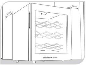 Instalação da Adega Climatização Cadence 8 garrafas