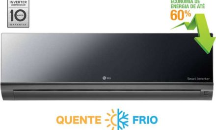 Medidas de Ar Condicionado Split LG Inverter Q/F 9000 BTU – AS-W092