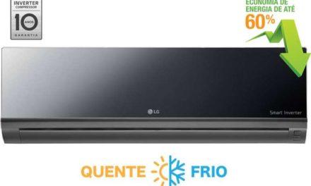 Medidas de Ar Condicionado Split LG Inverter Espelhado 9000 BTU Q/F